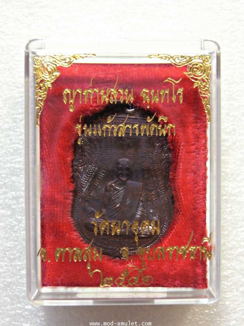เหรียญญาท่านสวน รุ่นแก้วสารพัดนึก ปี46 (3) 2