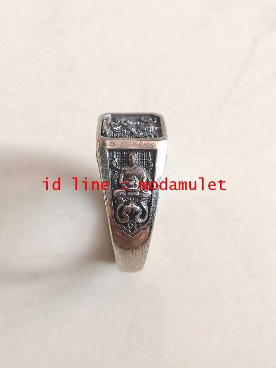 แหวนจักรพรรดิ์เนื้อเงิน หลวงตาม้า 1