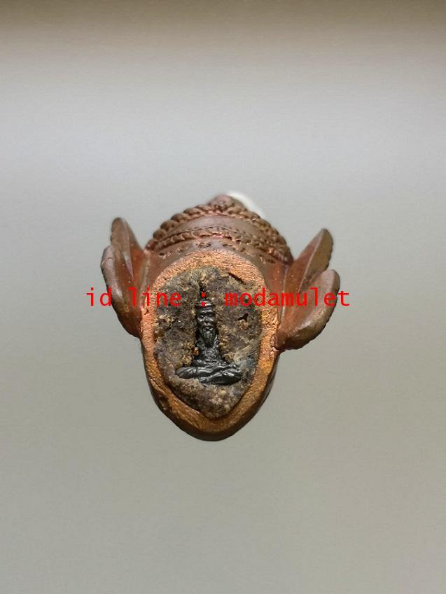 เศียรพระฤาษีสัมฤทธิ์ผล เนื้อสำริด หลวงปู่ละมัย สวนป่าสมุนไพร (3) 2