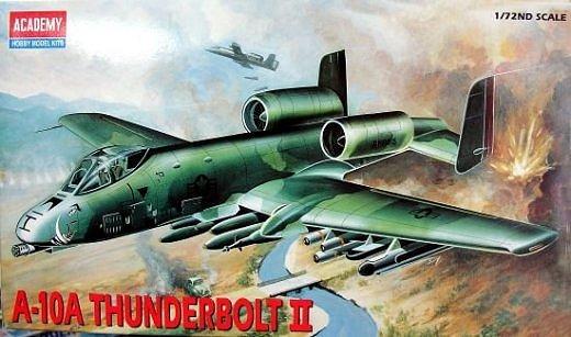 A-10 Thunderbolt II 1/72 Academy