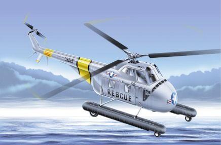 UH-19A Rescue Chikasaw 1/72 Italeri พร้อมรูปลอกตัวไทย Siam Scale