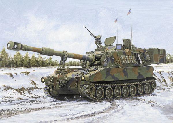Paladin S.P. Howitzer 1/35 Italeri