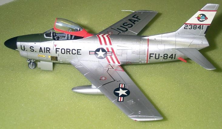 F-86D Sabre Dog  1/72 Hasegawa พร้อมสติกเกอร์ตัวไทย