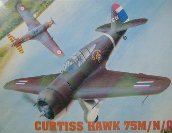 Hawk 75 M/N/O  1/48 Hobby Craft