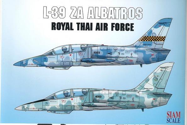 L-39ZA Albatros RTAF 1/48 Decal