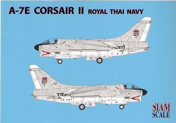 A-7E Corsair II Royal Thai Navy 1/48 Decal