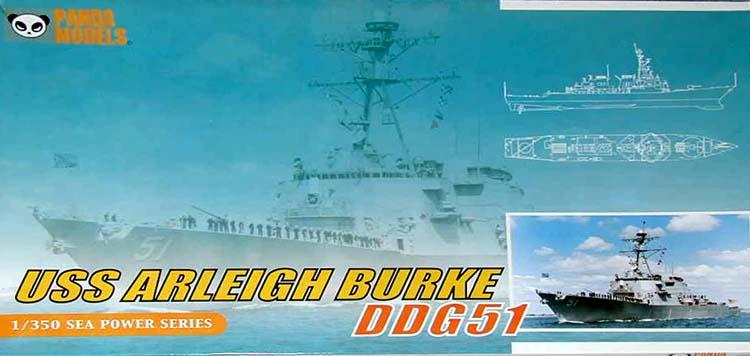 USS Arleigh Burke 1/350 Panda Models
