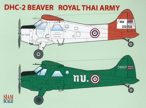 DHC-2 Beaver RTA 1/72 Decal