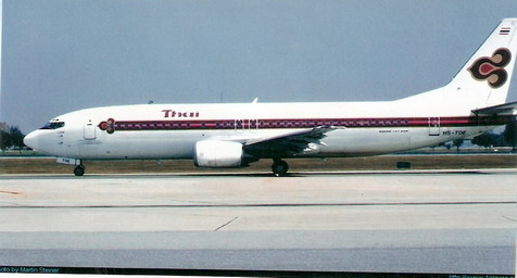 Boeing 737-400 Thai 1/144 Decal for Minicraft