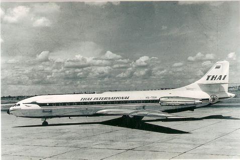 Caravelle III Thai 1/144 Decal for Airfix