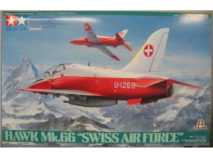 Hawk Mk.66 Swiss Air Force 1/48 Tamiya