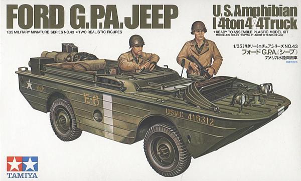U.S. Amphibian Ford GPA 1/35 Tamiya