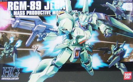RGM-89 Jegan HGUC 1/144 Bandai