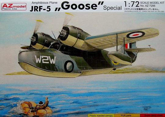 JRF-5 Goose (RAF,Japan,Cuba,Sweden) 1/72 AZ Model