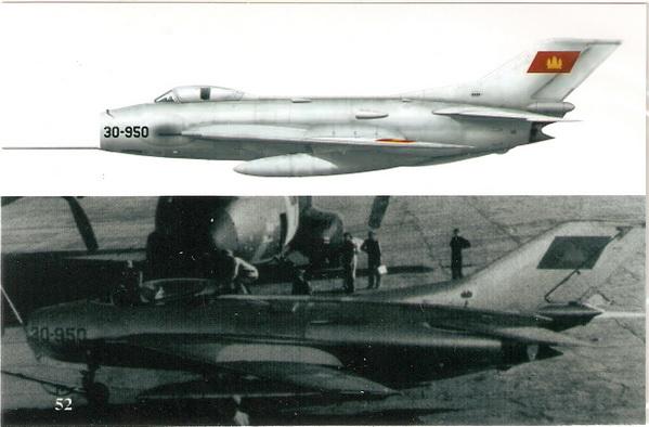 Mig-19 Cambodia 1/72 Decal