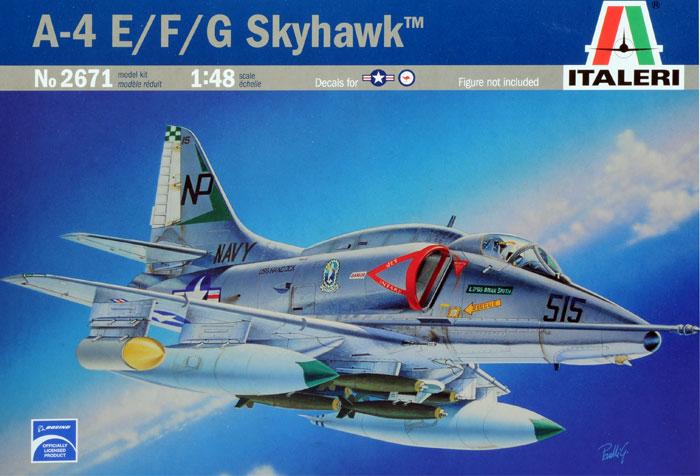 A4E/F Skyhawk 1/48 Italeri