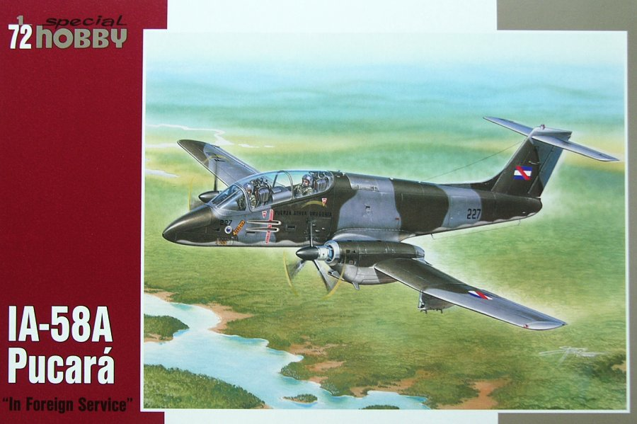 IA-58A Pucara \'In Foreign Service\'1/72 Special Hobby