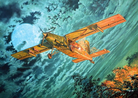 Fairchild AU-23A Peacemaker 1/48 Roden