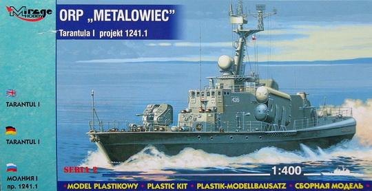 ORP METALOWIEC - TARANTUL I 1/400 Mirage