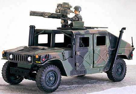 Humvee 1st Marine Division BBI Elite Force 1:18