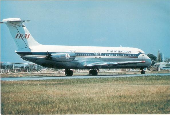 DC-9 Thai International 1/144 for Airfix Decal.