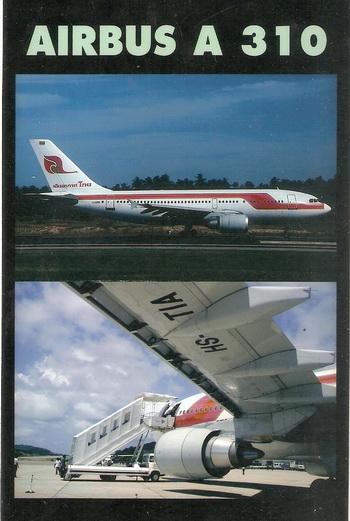 Airbus A-310 Thai Airways 1/144 Decal