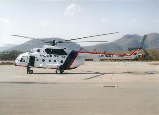 MI-17 Lao Air (1) 1/72 Decal