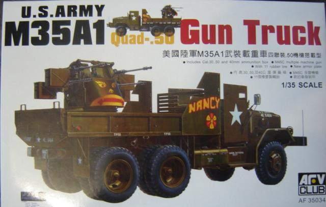M35A1 Gun Truck 1/35 AFV Club