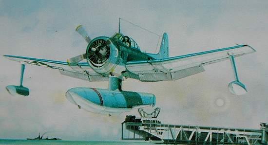 Curtiss SC-1 Seahawk 1/72 Smer