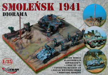 SMOLENSK 1941 (DIORAMA) 1/35 Mirage