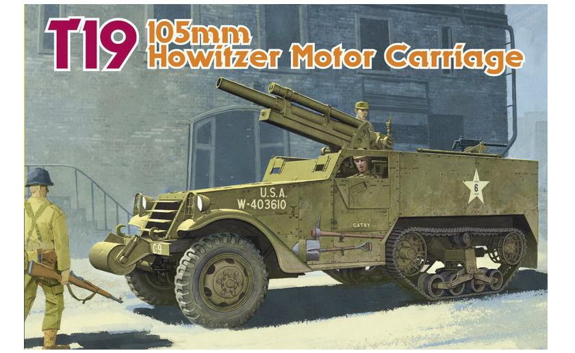 T19 105mm Howitzer Motor Carriage (Smart Kit) 1/35 Dragon