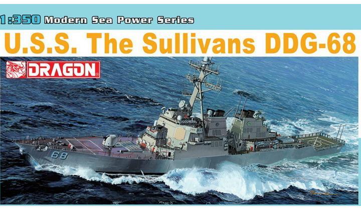 USS The Sullivans DDG-68 1/350 Dragon