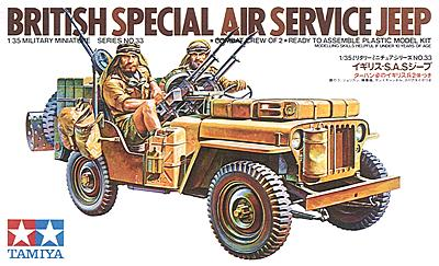 British Special Air Service Jeep 1/35 Tamiya