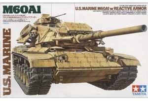 US Marine M60A1 w/Reactive Armor 1/35 Tamiya