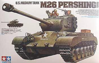 US Medium Tank M26 Pershing 1/35 Tamiya