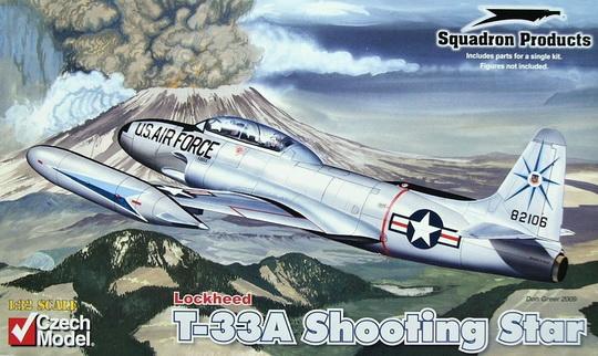 Lockheed T-33A Shooting Star 1/32 Czech Model