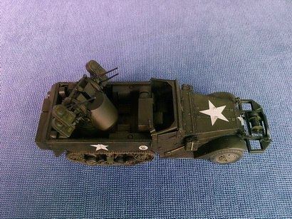 US Half Track M16 Multiple Gun Carriage 1/35 finished by Modelivery