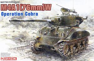Sherman M4A1(76)W Operation Cobra 1/35 Dragon