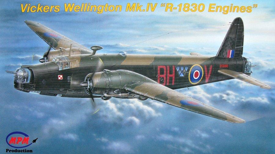 Vickers Wellington Mk.IVI \'R-1830 Engines\' 1/72 MPM