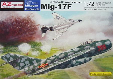 MiG-17F \'Over Vietnam\' 1/72 AZ Model