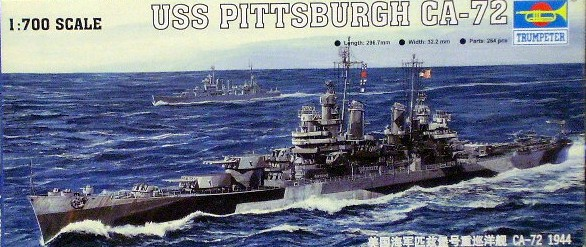 USS Pittsburgh 1/700 Trumpeter