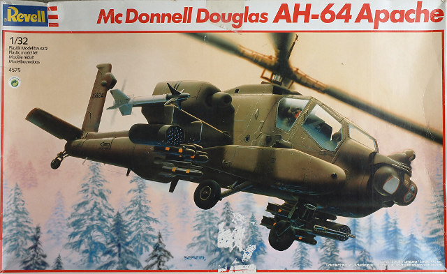 AH-64 Apache 1/32 Revell