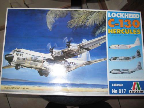 Lockheed C-130 Hercules 1/48 Italeri