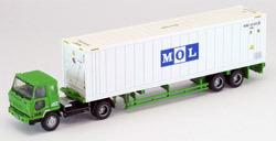TOMYTEC(N SCALE) TRAILER MITSUBISHI FUSO + MOL 1/150