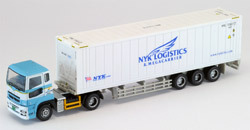 TomyTec 1/150 N Trailer 322:Nissan Diesel Fig Sam NYK
