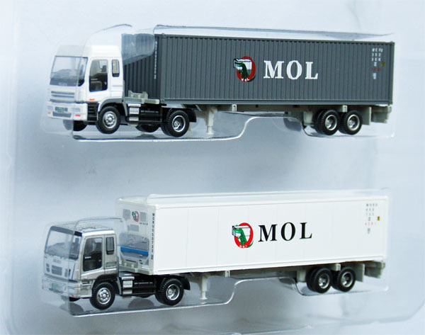 The Trailer Collection \quot;MOL\quot; - Tomytec 1/150 N scale