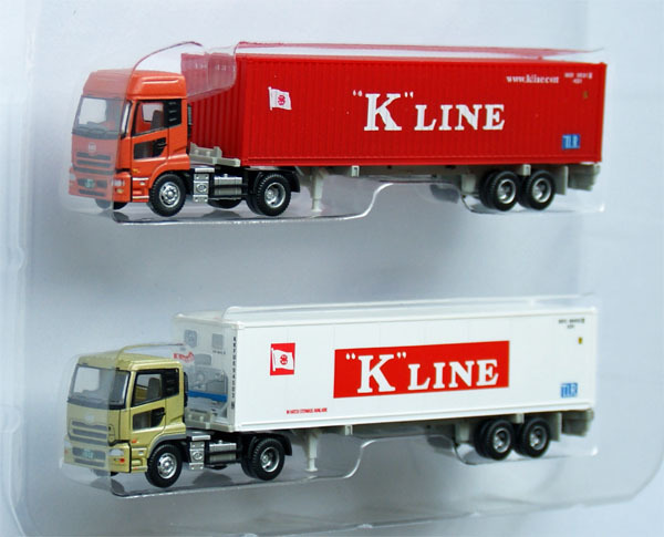 The Trailer Collection \quot;K Line\quot; - Tomytec 1/150 N scale
