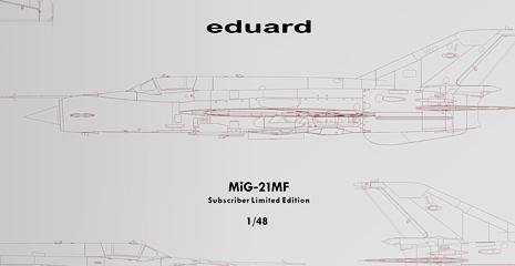 MiG-21MF Subcriber Limited Edition 1/48 Eduard