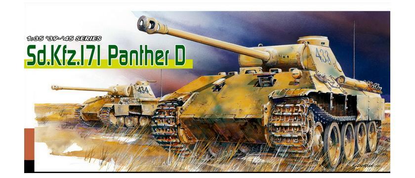 Sd.Kfz.171 PANTHER D (PREMIUM EDITION) 1/35 Dragon