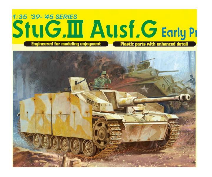 StuG.III Ausf.G Early Production w/Schurzen 1/35 Dragon